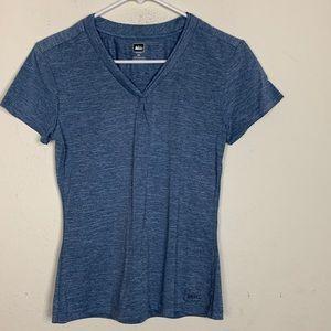 REI- Blue Shirt size x-small